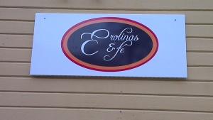 Invigning av Erolinas Café i Floda!