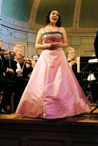 Tillsammans med orkestern :)