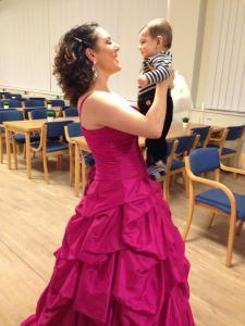 Innan konsert för Åhgrenska stiftelsen, bästa uppladdningen var såklart Samuel :)
