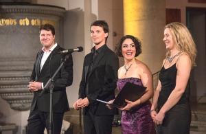 Fyra sångare