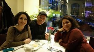 Tillsammans med mor och far efter konserten :)