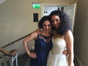 Tillsammans med Sanna Gibbs , en mycket begåvad sopran som också uppträdde samma kväll, härligt med två divor på samma gång :)