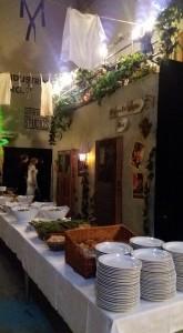 Min italienska balkong från vilken jag sjöng och överraskade gästerna på Filmfestivalen :)