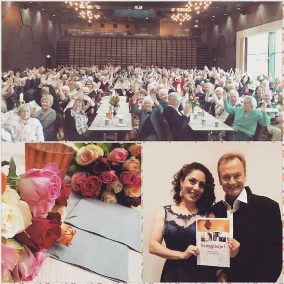 sångerska sångglädje Lowe Pettersson Negar Zarassi Råda Rum musikal visa operett opera jazz