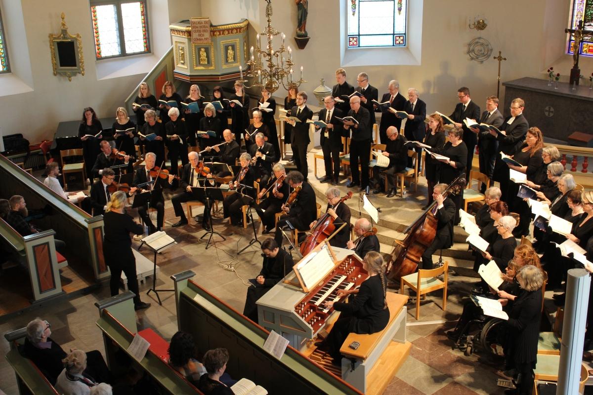 Johannespassionen, Bach, Hjo, solist, sopran