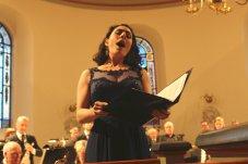 solist, sopran, sångerska, oratorie, bach, hjo, passion,