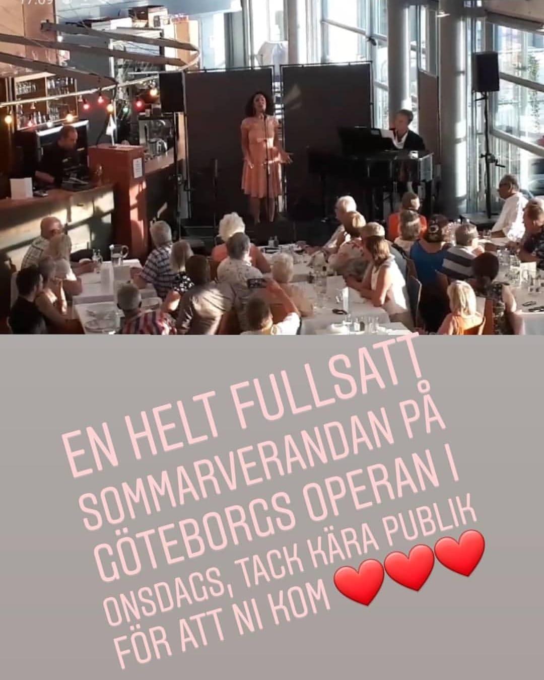 Göteborgs operan, sommarveranda, konsert, sångglädje, negar zarassi, lowe pettersson, opera, musikal, visa, crossover, underhållning, sopran